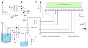 water level controller using arduino water level indicator using