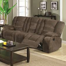 Cloth Reclining Sofa Beautiful Fabric Reclining Sofa 38 On Sofa Design Ideas With