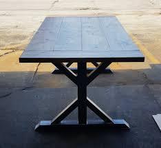 dining trestle table trestle table legs model tr10 heavy duty sturdy metal legs