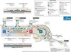 washington dc airports map map of terminal 2 humphrey at minneapolis st paul airport msp