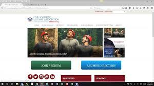 alumni directory software creating events on saa website