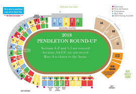 Pepsi Center Seating Map Pendleton Round Up Tickets