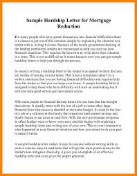 9 hardship letter to mortgage company curriculum word