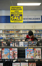 as blockbuster closes for good shoppers find bargains and relics