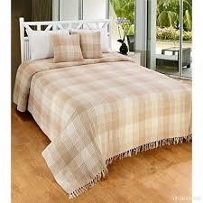 canapé king size ehc premium réversible 100 coton king size 225x 250cm tartan couvre