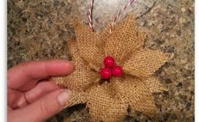 burlap ornament hometalk