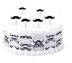 mustache birthday cake mustache birthday party cake decorations birthday wikii