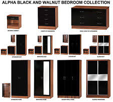 walnut bedroom furniture ebay