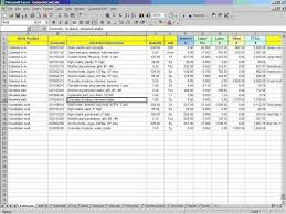 Forecast Spreadsheet Template Construction Estimate Spreadsheet Template Free And Estimate