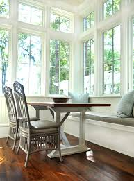 Kitchen Window Seat Ideas Eat In Kitchen Bench Seat Full Windows Custom Home In