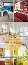 Painted Kitchen Cabinets Color Ideas 80 Cool Kitchen Cabinet Paint Color Ideas