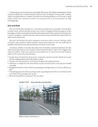 chapter 10 automobile access and park and ride guidelines for page 111