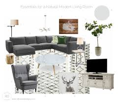 Modern Comfortable Sofa Sources For A Modern Comfortable Living Room On A Budget