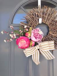 choosing the perfect wreath for your front door uniquely women