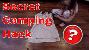 big man in the woods secret camping hack revealed the skivy roll