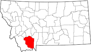 Madison Map File Map Of Montana Highlighting Madison County Svg Wikimedia