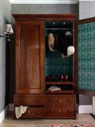 Furniture Armoire Wardrobe Wardrobes Reclaimed Wood Armoire Wardrobe Bella Hanging Wardrobe