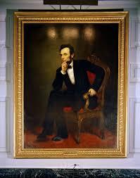 kn c18103 white house painting portrait of president abraham