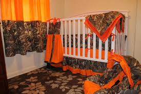 Bright Orange Curtains Baby Nursery Decor Wonderful Industrial Handmade Camo Baby