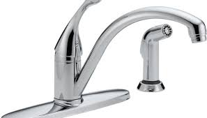 kitchen delta single handle kitchen faucet popular delta trinsic