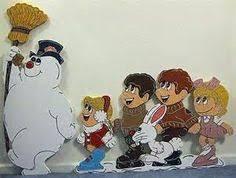 frosty the snowman 4 set yard decorations