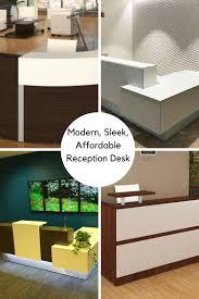 Ada Reception Desk Modern Sleek U0026 Affordable Reception Desk Options Available In L