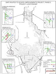 Cerritos College Map Safe Routes To Improvements Project Phase 3 City Of