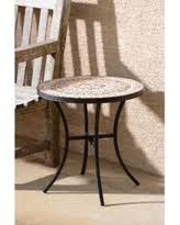 Circular Patio Seating Amazing Deals On Mosaic Patio Tables