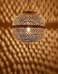 Moroccan Pendant Light Moroccan Pendant Lamp In Shiny Brass Finish Lighting Pinterest