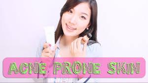 korean skin care for acne prone skin wishtrend youtube