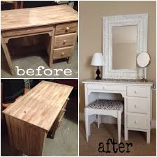 old desk turned into super cute vanity simply my childhood bedroom desk turned vanity