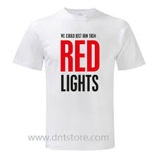 Tiesto Red Lights Tiësto We Could Just Run Them Red Lights T Shirt Dntstore Com