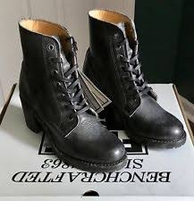 ebay frye womens boots size 9 frye s sabrina 6g lace up booties size 9 black leather 77660
