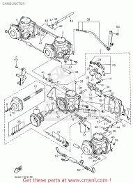 yamaha fzr600r 1996 t usa carburetor schematic partsfiche