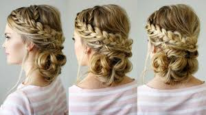 stunning details of double braid updo for formal events the