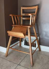 Antique Wooden High Chair Numbered Street Designs The High Chair Search
