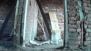duplex house construction बनत समय inside view अन दर