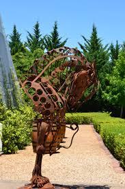 Copper Garden Art One Word Photo Challenge Copper Nowathome