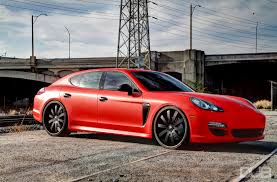 porsche red dub magazine yg rollin on forgis