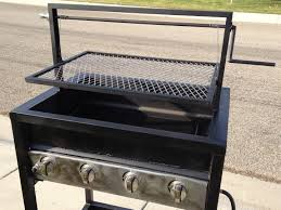 diy bbq grill cowboy campfire grill plans adjustable 26x24
