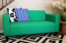 Homemade Sofa How To Easily Make Over A Sofa With Paint Happiness Is Homemade