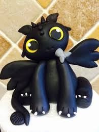 toothless cake topper something i worked on today with marzipan toothless the cake