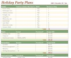 event planning template event planner template