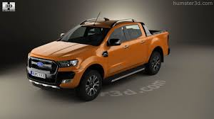 ford ranger 360 view of ford ranger double cab wildtrak 2016 3d model hum3d