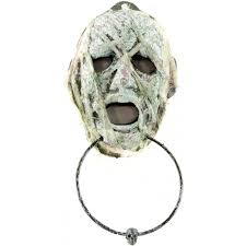 wrapped mummy head door knocker hh717943 craftoutlet com