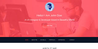 Resume Html Template 15 Best Free Resume Html Website Templates 2017 Download Now
