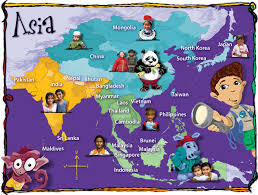 asia map coloring page maps of asia caravan friends