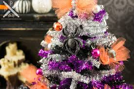 tinsel halloween tree the petite provisions co