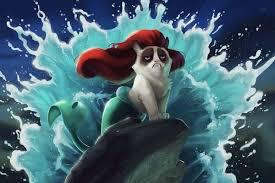 Cartoon Cat Memes - cat meme cartoon mashups grumpy cat memes