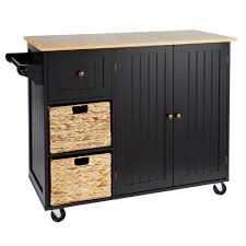 Kitchen Cart With Drawers by Rolling Kitchen Island With Baskets Christmas Tree Shops Andthat